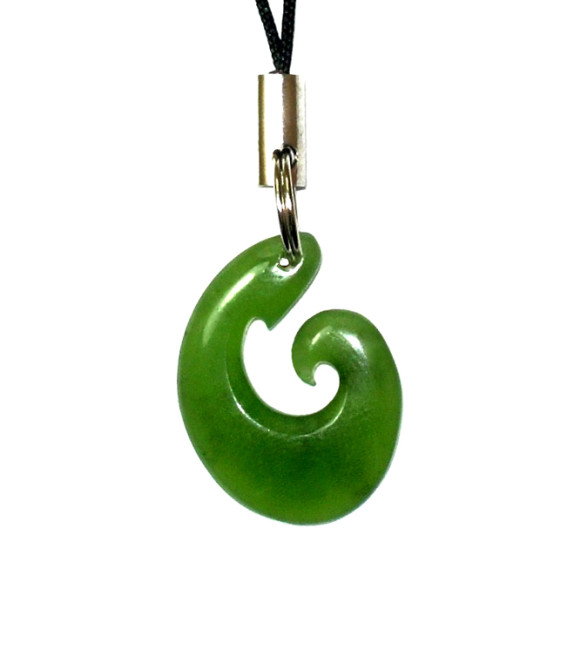 JADE HOOK MOBILE PHONE STRAP 20MM