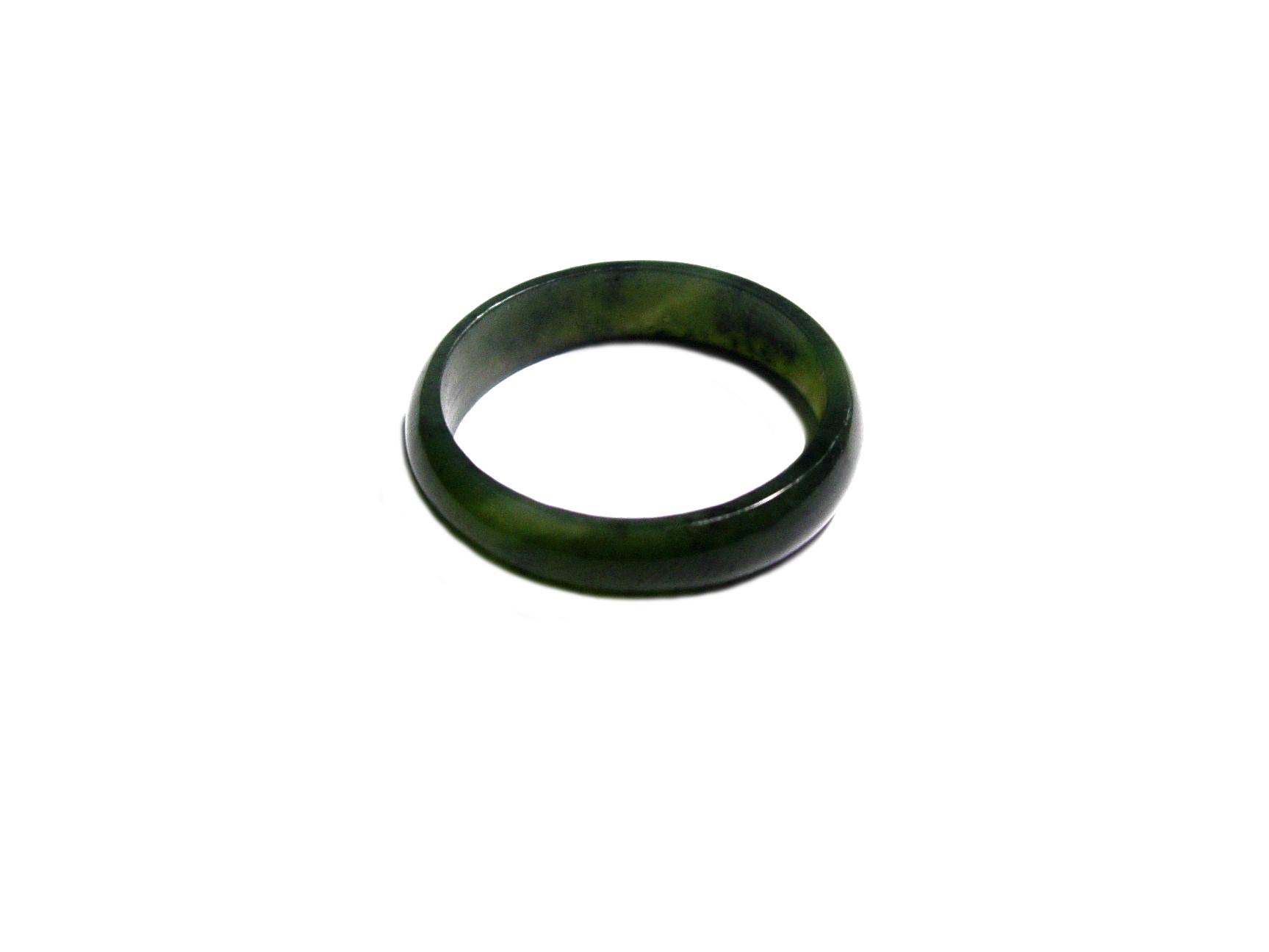 JADE 5MM BAND RING – SIZE US7 (17.35mm)