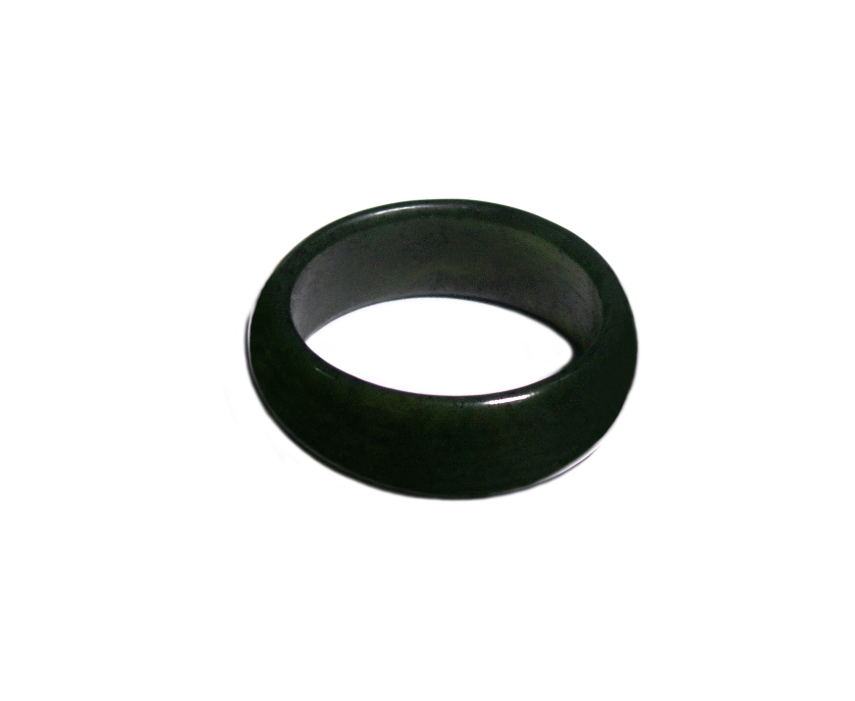 JADE 8MM WIDE BAND RING – SIZE U13(22.33mm)