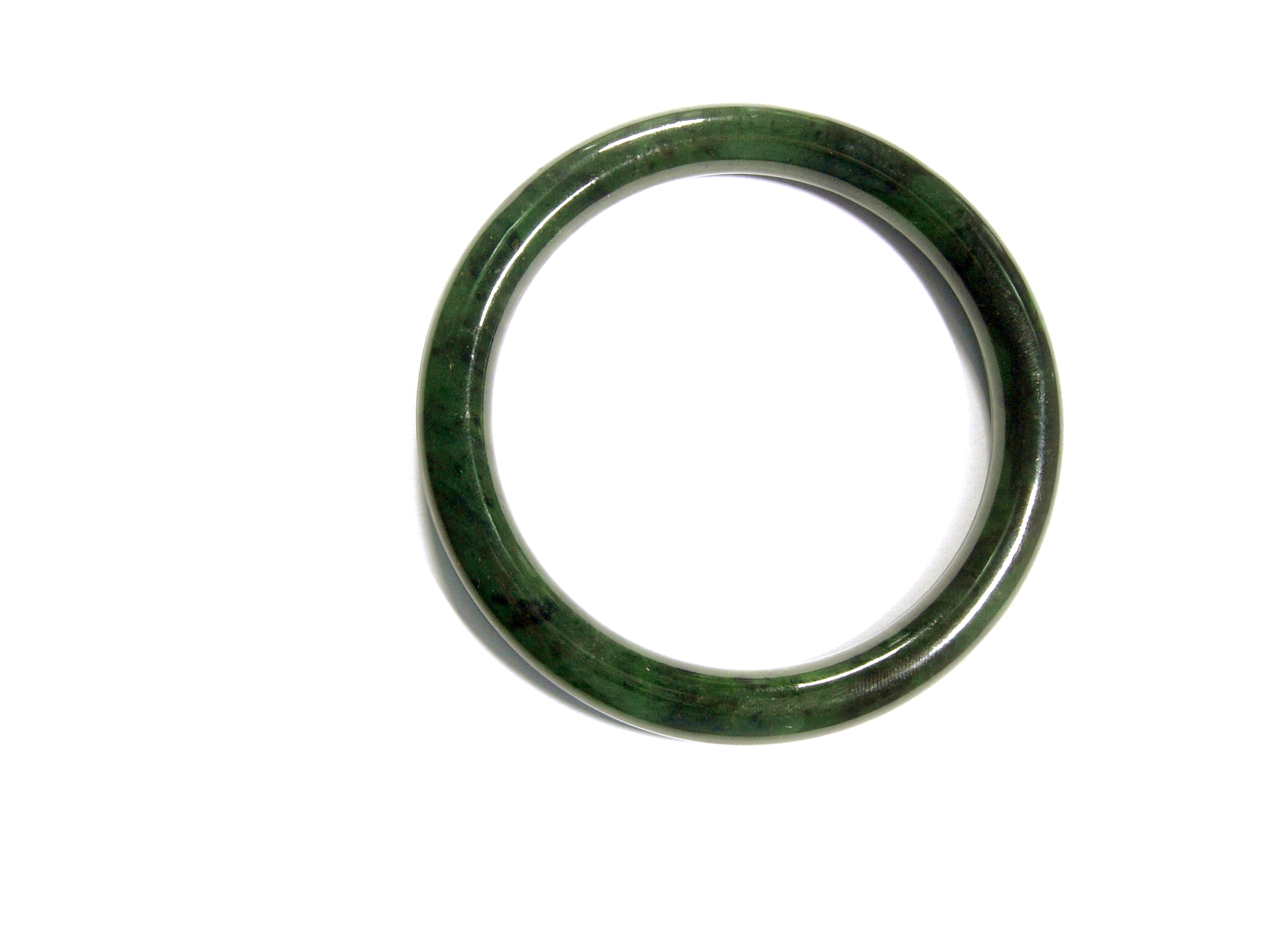 JADE BANGLE 63MM