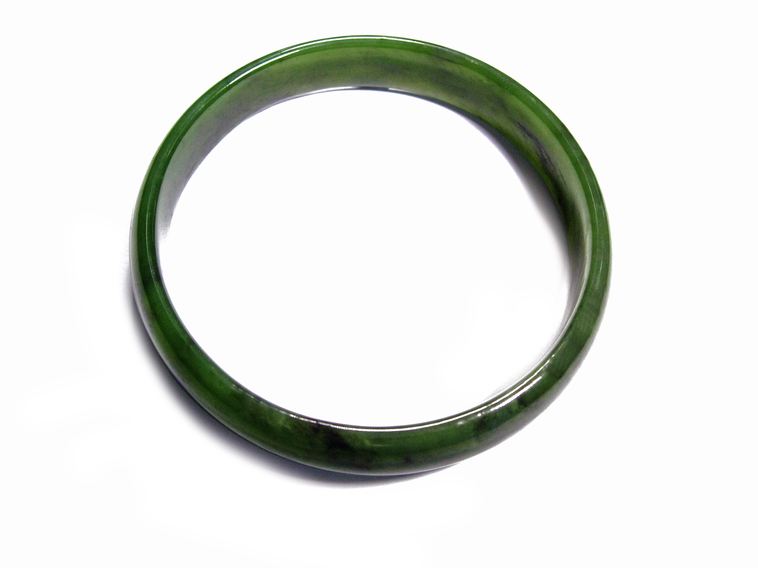 JADE WIDE BANGLE 63MM